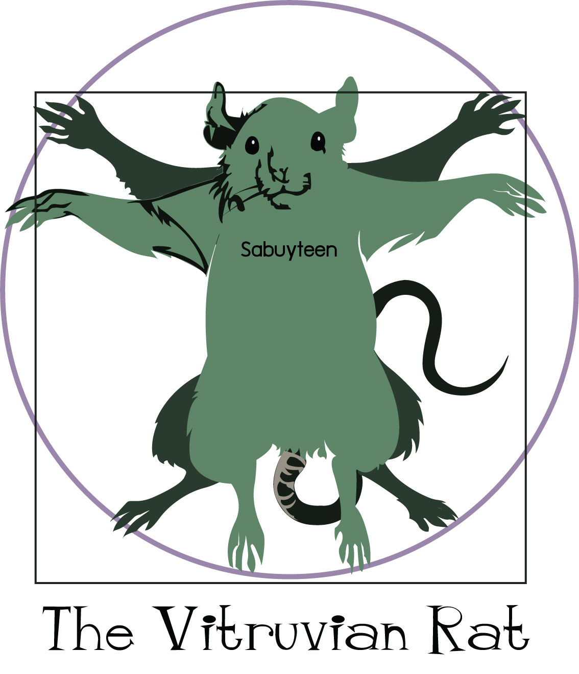 vitruvian Rat_by sabuyteen